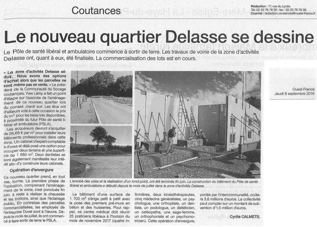 Le nouveau quartier Delasse se dessine